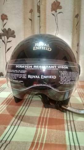 Royal Enfield New Helmet With Tag