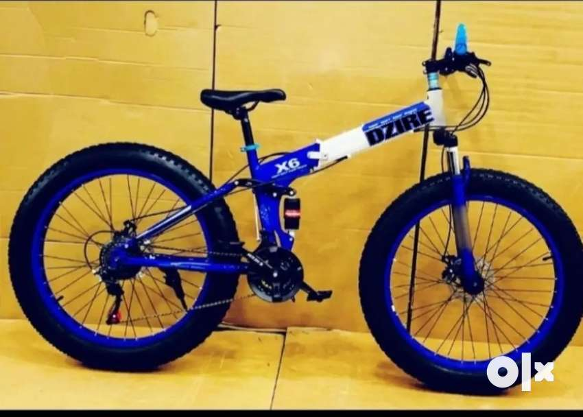 Dzire Fat Foldable Bicycle available with 21 Gears