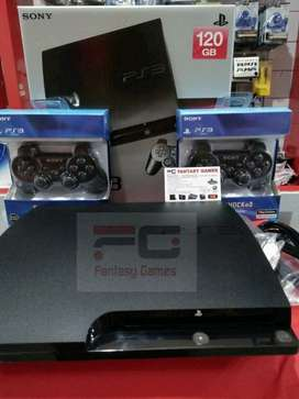 PS3 Slim Sony + Bisa Online + bonus 300 Game retro