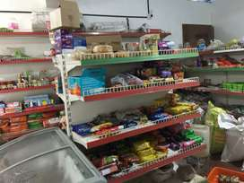 Shop fully furnished with all stock and equipments