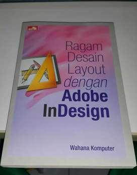 Buku Ragam Desain Layout dengan Adobe InDesign - Buku Bekas -
