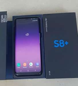 Samsung Galaxy S8 Plus Dual Sim G955FD ( Midnight Black )