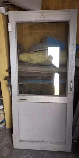 Glass alluminium Door