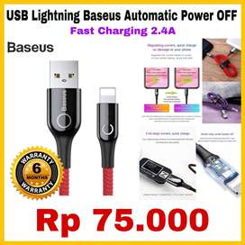 BASEUS USB Charger Adapter Original Garansi 6 Bulan READY STOCK