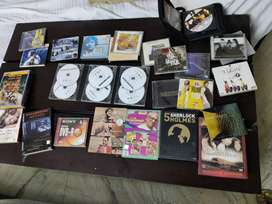 DVD and CD's