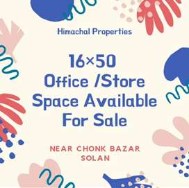 Prime Location Store / Office Space Available For Sale in Solan