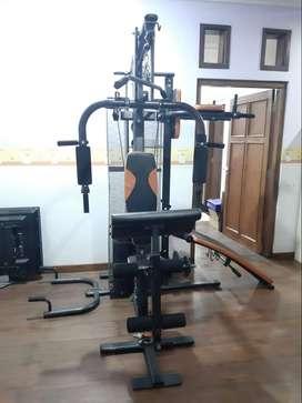 Alat home gym / fitness rumah - olahraga barbel personal training