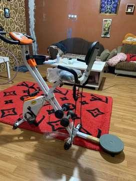 Sepeda statis merk Aibo