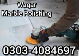 Marble Polishing, Marble Grinding, Marble Fixing in Lahore...