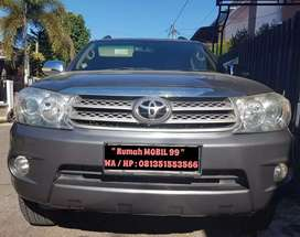 Toyota New Fortuner 2.7 G Lux A/T th 2009, Pemakaian Pontianak Kota