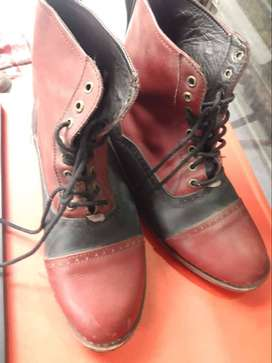 Sepatu Boot Kulit Domba Murah Harga Hancur