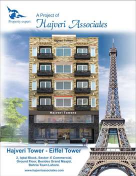 1 Bed Furnished Appartment For Sale,Hajveri Tower In Bahria Town Lahor