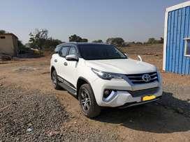 Toyota Fortuner 2017 Diesel 43000 Km Driven