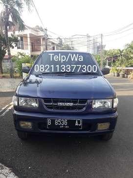 Isuzu Panther Minibus 2.5 LM Biru Tua Metalik 2004 Pjak Panjang, GENAP