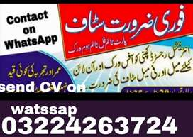 Jobs available for full time persons males females and students