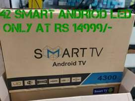 42 andriod led TV'S with best price 14999 /-