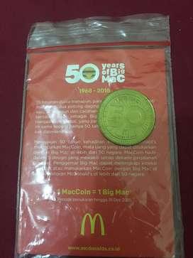 Koin big mac mcd 50 tahun