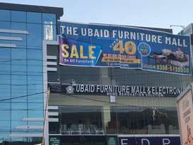 ubaid furniture mall & electronics store / Running business for sale