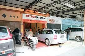 BESARKACAFILM Spesialis Kaca film terpercaya di Medan sejak 2010