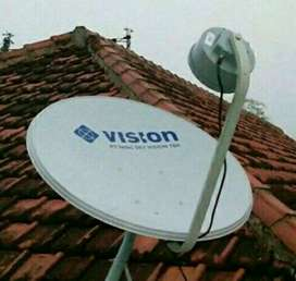 Pasang Indovision Mnc Vision Family Pack tv resmi bergaransi terjernih