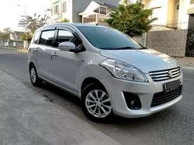 Suzuki Ertiga 1.5L GX MT 2013 Silver Service Record (Bisa TT)