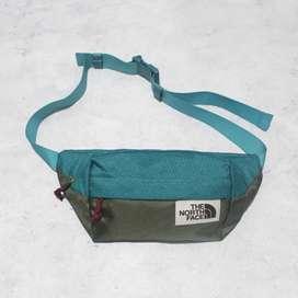 Tas Selempang The North Face Waist Bag Blue Tosca Comb Army
