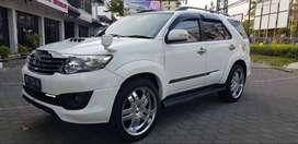 Fortuner VNT TRD diesel Matic  thn 2012 AB k 50 rb