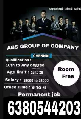 ABS GROUP OF COMPANY (vacancy available)