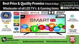 40.Smart Led Tv Brand New Unbelievable(Wholesale BestQuality24to65in.)