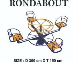 Roundabout Mainan Outoor Termurah - Playground Outdoor