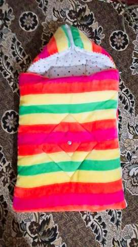 Baby velvet sleeping bag