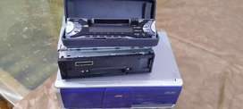 jvc car cd and cassette player with 12 cd changer