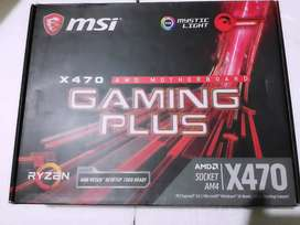 Msi X470 Gaming Plus Ryzen Motherboard