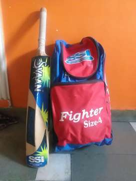 Svaan Cricket kit Size 4 urgent sell