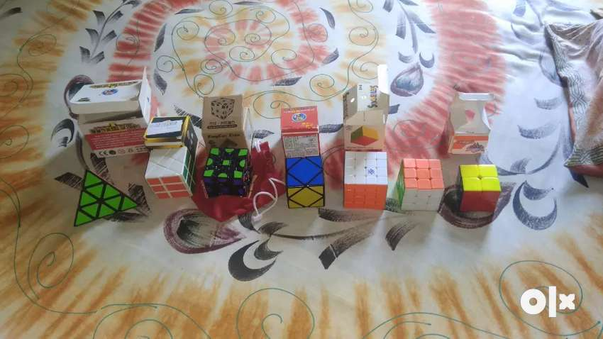 Different types of cubes. 0
