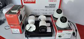 Cctv Dahua 2 MP Full HD Paket 4 Kamera Lengkap + Pemasangan
