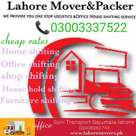 Lahore Movers &House shifting service