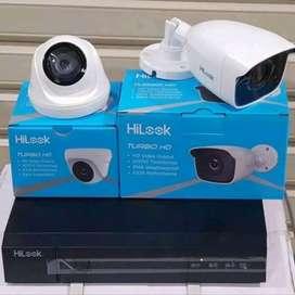 Intalasi Camera Cctv 2Mp.Jernih full hd?Hilook Perpaket Lengkap