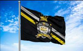 bendera logo komunitas giant flag umbul umbul spanduk kain kaca film