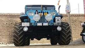 High style look jeep sky blue orignL paint