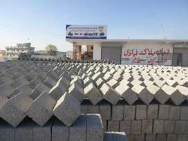 Running Block Factory and Building Materials Trading for Sale