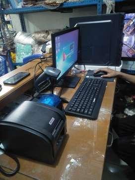 Paket komputer Kasir cafe