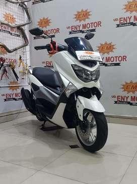 MOTOR BEKAS KUALITAS, YAMAHA NMAX 155 ABS 2018 - PUTIH