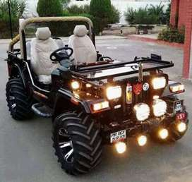 Full Modified open Jeep for sale in all State transfer