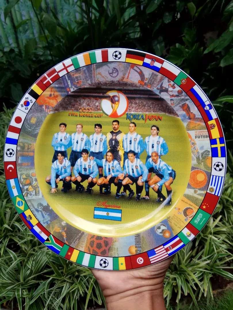 Memorabilia, argentina, fifa world cup..porcelain 0