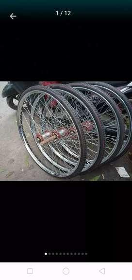 Velg gerobak roda type beca ukrn ring 28