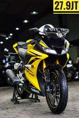 Yamaha R15 -2018, Racing Yellow-Kilometer 6rb, Mustika Motoshop