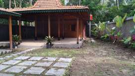 Rumah Joglo Bisa Custom Model Dekat Jalan Magelang, Tempel