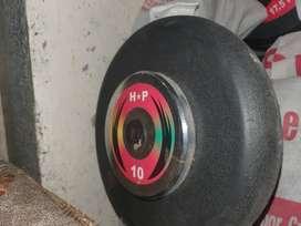 Dumbells @125/kg