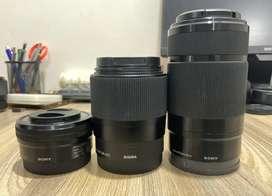 Sony APSC lens